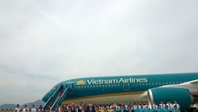 Vietnam Airlines receives its first Airbus A350 XWB aircraft