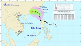 'Linfa' storm hits toward China