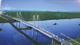 Bridge construction starts to link up Can Gio, Nhon Trach