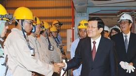 President praises Ba Ria-Vung Tau