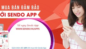 Sendo.vn ra mắt ứng dụng mua sắm trên điện thoại