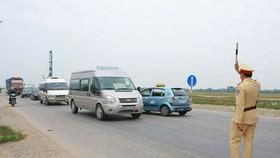 Vehicles ordered off roads through 'black box' data