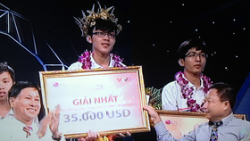 Quang Tri Province student wins Olympia competition