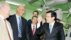 Modern heart center opened in HCMC