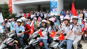 Over 2,000 students participate in Traffic Safety Month Campaign 2015