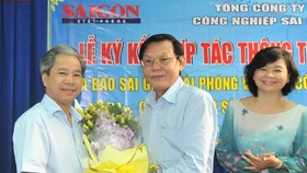 SGGP Newspaper, SIC signed strategic cooperation agreement