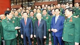 Khai mạc Đại hội đại biểu Đảng bộ Quân đội lần thứ X