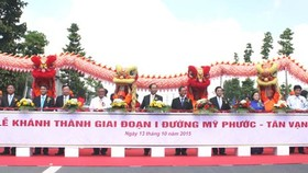 My Phuoc- Tan Van route's phase 1 inaugurated
