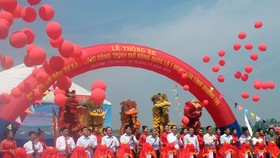 National Highway 1 crossing Quang Tri inaugurated