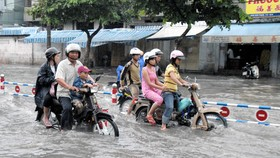 HCMC has financial difficulties in anti-flooding