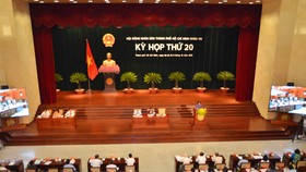 20th council session to elect new chairman of HCMC People's Committee