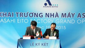 Asahi Eito inaugurates its first factory in HCMC