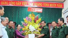 HCM City' leaders visit naval forces