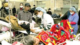 Patients increase due to cold weather: hospitals