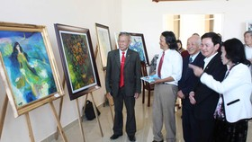 Art exhibition opens in Lam Dong