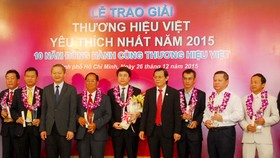 2015's most favourite Vietnamese brand names announced
