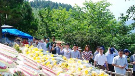 Thousands of Vietnamese visit late General Vo Nguyen Giap grave