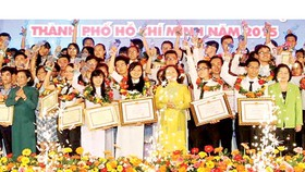 HCMC honors good students