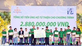 11th Lawrence S.Ting charity walk for poor raises VND2.9 billion