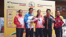 Ha Thi Linh wins silver medal at Int'l Boxing Tournament