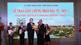 Binh Duong attracts nearly $ 700 mln to FDI projects