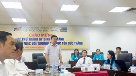 HCMC Party Chief encourages TDT University to develop non-state model