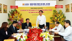 HCMC Party Leader prompts banks to assist SMEs