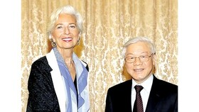 "IMF director: ""Vietnam steps up comprehensive development"""