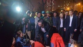 Big explosion from old explosives kills four in Hanoi