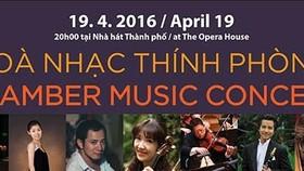 Chamber music concert in big cities open