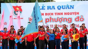 Over 40,000 youths participate in Hoa Phuong do campaign