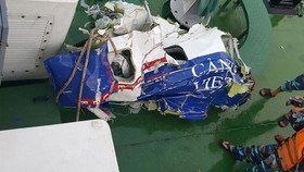 Debris retrieved at sea is from CASA-212