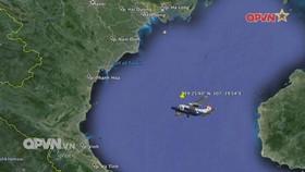 Search area broadened to seek missing crew members