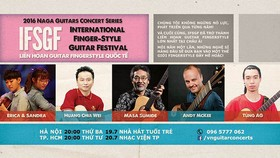 Vietnam Int'l Fingerstyle Guitar Festival 2016 to be held in Hanoi, HCMC