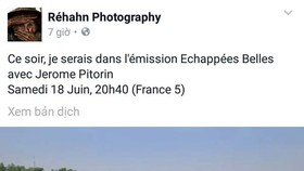 Văn hóa và con người Việt Nam lên truyền hình Pháp