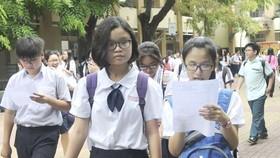 Phổ điểm môn Văn cao nhất với gần 82% thí sinh đạt trên trung bình