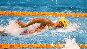 Phuoc wins gold in Budapest swimming competition
