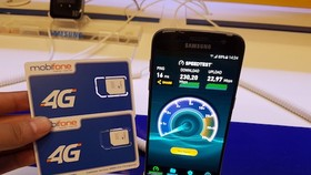 MobiFone pilots 4G, MobiTV services