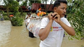 Myanmar prolonged flooding kills six, affects thousands