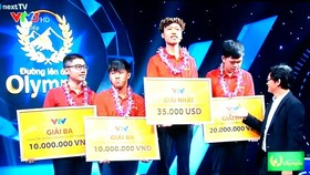 "Hue's student wins 16th ""Road to Mt. Olympia's Peak"" quiz show"