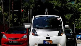 World's first self-driving car runs on trial in Singapore