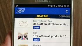 The Good Life tìm kiếm ưu đãi trên smartphone