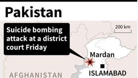 13 dead, dozens wounded in Pakistan court blast: police