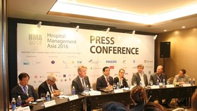 Hospital conference in HCMC