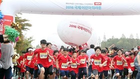 Yonhap, Save the Children host marathon to help malnourished kids