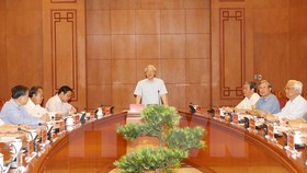 Handle corruption cases soon: Party leader