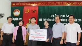 HCMC contributes VND4.5 bln to flood victims in Quang Binh & Thua Thien Hue