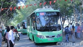 HCM City pilots electricity-powered bus service