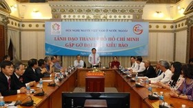 Vietnamese expats welcomed in HCM City