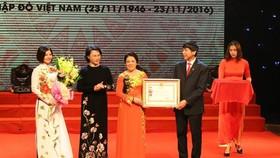 NA chairwoman honours humanitarian group